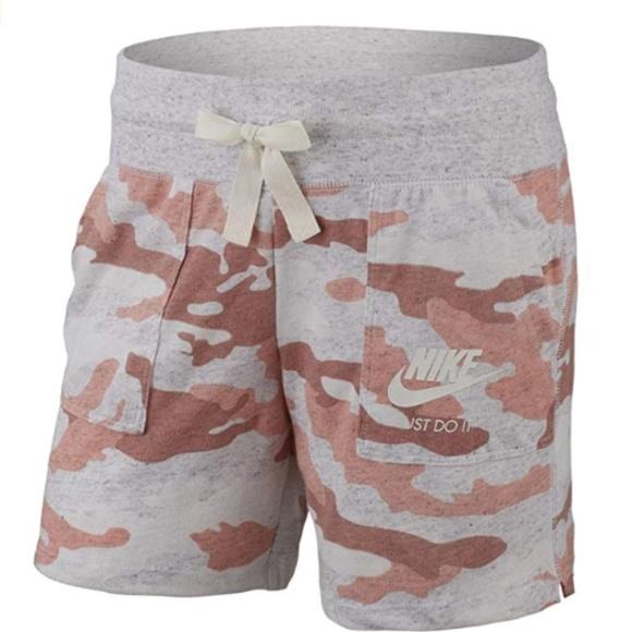 Nike Other - NIKE Girl's Sportswear Gym Vintage Camo Shorts NWT